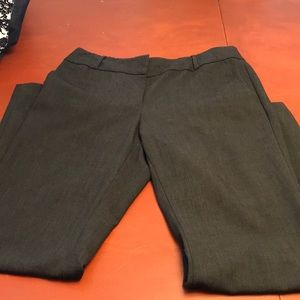 Loft Julie Bootcut Trousers Size 10 in Grey